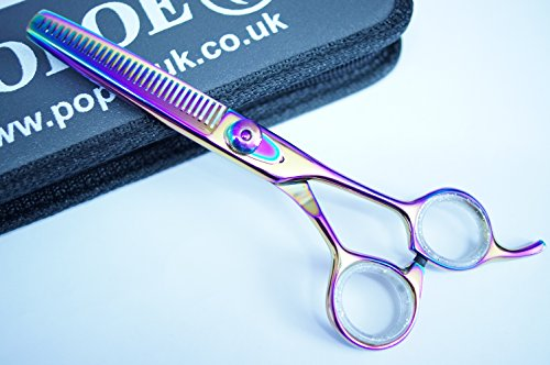 popoe-professional-dog-grooming-scissors-thinners-silver-series-65-titanium-dog-grooming-shears