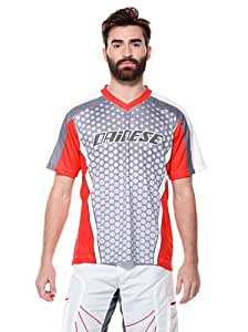 Dainese Dirt Quake Men's Downhill T-Shirt - Grey, M