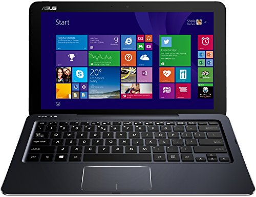 Asus Transformer Book T300CHI-FH003H 31,8 cm (12,5 Zoll) Convertible Tablet-PC (Intel Core-M-5Y10, 1,1GHz, 8GB RAM, 128GB SSD, Intel HD, Touchscreen, Win 8.1) schwarz (Windows-8-tablets Asus)