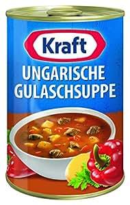 Kraft ungarische gulaschsuppe dose 400 ml for Ungarische gulaschsuppe