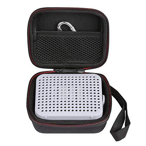 2 Tasche Mit Reißverschluss-tasche (LuckyNV Tragbarer Eva-Reißverschluss Hard Case Bag Box mit weichem Silikon Tasche für JBL Go 2 Bluetooth Lautsprecher (Grau))