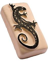 Skinjee Tatouage - Pierre de Tatouage Ephemere Temporaire Ladot - Motif Tattoo Grande Salamandre
