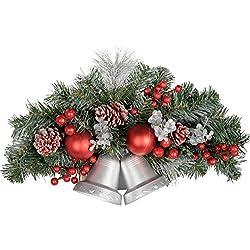 WeRChristmas - Decoración de Navidad (30 cm), diseño de Campanas y muérdago