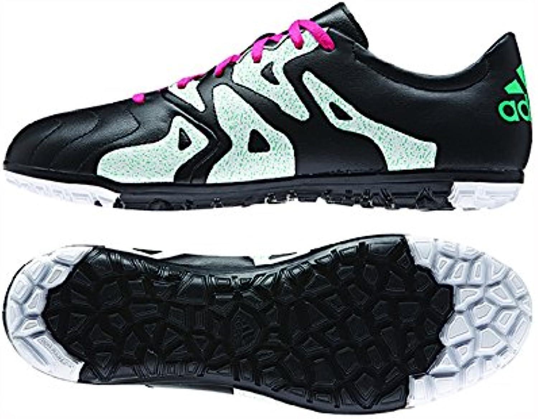 Adidas Adidas Adidas x 15.3 Tf scarpe - Nero Shock Menta Shock rosa - Uomo - 7.5 | Ha una lunga reputazione  | Uomini/Donne Scarpa  853488