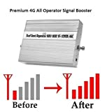 Lintratek 4G 900/1800/2100MHz Mobile Signal Booster Kit for Home, Factory, Office