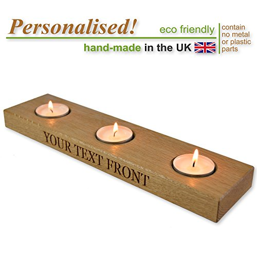 solid-oak-wooden-trio-tealight-candle-holder-personalised-gift-tea-light-holder