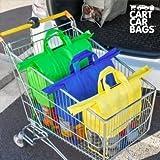Buste per sistemare la spesa e il bagagliaio cart car bags (pacco da 4) (1000043738)