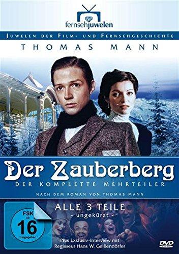 Bild von Thomas Mann: Der Zauberberg - Der komplette 3-Teiler (Langfassung) (Fernsehjuwelen) [4 DVDs]