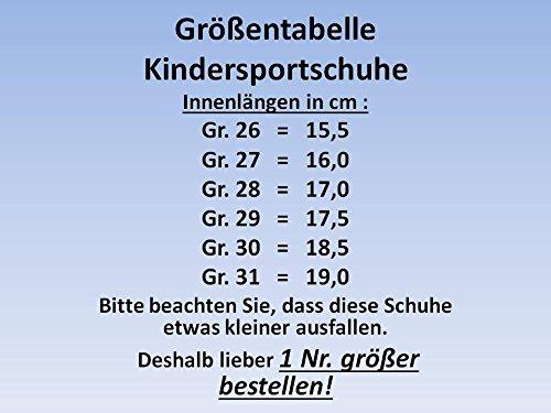 GIBRA enfant, très léger (gris/jaune fluo taille 26–31 Gris - grau/neongrün
