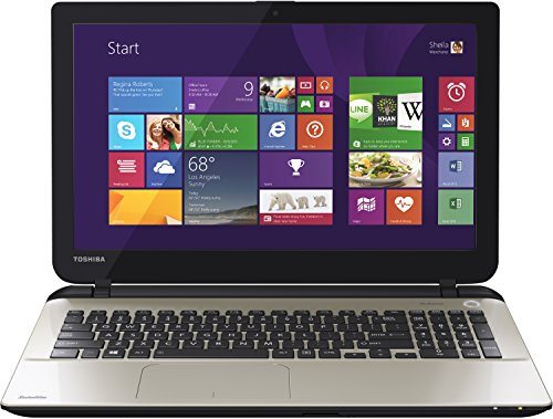 Toshiba Satellite L50-B-1JH 39,6 cm (15,6 Zoll) Laptop (Intel Core i7 4510U, 2GHz, 8GB RAM, 1TB HDD, Radeon R7 M260, DVD, Win 8) silber