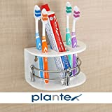 Plantex Tooth Brush and Paste Holder is the best quality product which provides facility to put things very well and it also helps to display products, items, and show pieces to make Bathroom, Kitchen, home, offices and shops attractive. It's best th...