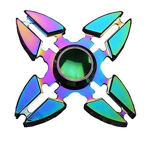 Fidget Spinner Jouet Fidget Hand Spinner Stress Reducer High Speed Ceramic Bearing Fidget Toy pour Adultes Enfant (A09)