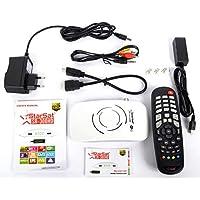 Full HD 1080P, 6000 Channels, 2xLED Display, 2x USB, Long Range WiFi SR-300HD (White)