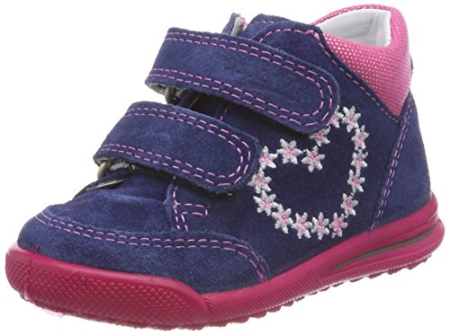 Superfit Baby Mdchen Avrile Mini Sneaker, Blau (Water Kombi), 21 EU