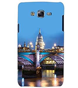PrintDhaba LAKE CITY D-6428 Back Case Cover for SAMSUNG GALAXY J5 (Multi-Coloured)
