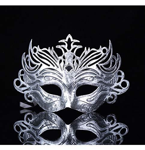 JIAENY Halloween-Maske,Halloween Maske Masken Männlich Geschnittene Männer Venezianische Maskerade Augenmasken Party Halloween Cosplay Mardi Gras - Mardi Gras Kostüm Männlich