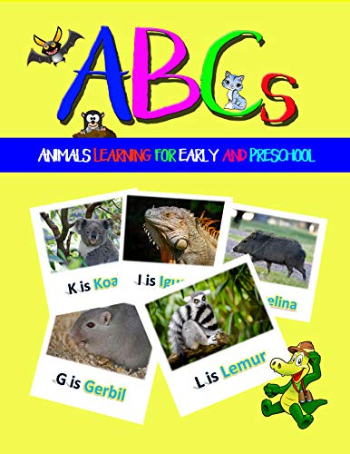 Funny ABCs Animals Learning: for Early and Preschool (Step into Reading) (English Edition)