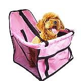 Jamisonme Booster Tragbare Pet Booster Sitz Auto Dog Carrier Mesh Sided Travel Autos Tasche für Haustiere Rücksitz Zubehör