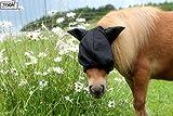 Tysons Breeches  Fliegenmaske mit oder ohne Ohren DICHTES Netz weich umrandet MS S P VB WB X Full (Mit Ohren, Shetty)