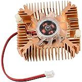 Ventilador de refrigeracion - TOOGOO(R)2 Pines Ventilador de refrigeracion Enfriador disipador de calor de tarjeta de video VGA de computadora