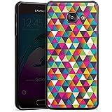 Samsung Galaxy A3 (2016) Housse Étui Protection Coque Triangles Triangles Triangles