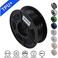 SUNLU 1.75mm Flexible TPU 3D Printing Filament, Dimensional Accuracy +/- 0.02 mm, 1KG Spool, 1.75 mm