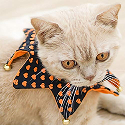 Country Kostüm Cute - Gychee Halloween Decor pet Clothes,Halloween Original Fashion Lovely Practical Pet Dogs and Cats Skull Element Scarf
