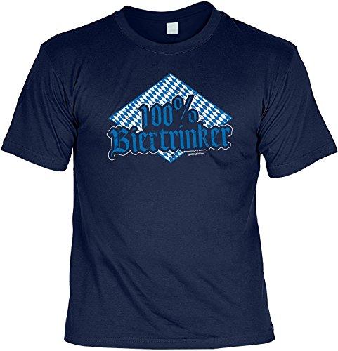 cooles witziges Damen Herren T-Shirt Farbe blau Motiv lustiger Spruch ideales Geschenk Geburtstag lässiges Outfit Navyblau