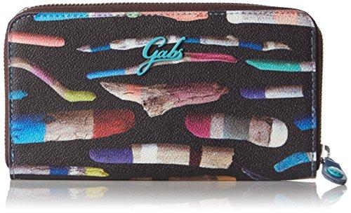 GabsGMONEY - Portafogli Donna , Multicolore (Mehrfarbig (SO224)), 19x11x2 cm (B x H x T)