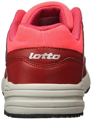 Lotto Strada Ii Jr L, Chaussures de Sport Mixte Bébé Rose (Ger/Blk)