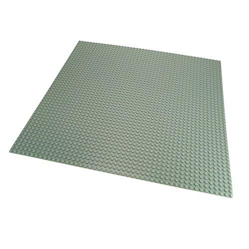 1 x Lego System Bau Platte hell grau 38 x 38 cm 48 x 48 Noppen Space 4186 - Lego Graue Bau Platte
