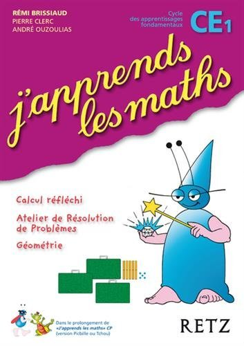 Portada del libro J'apprends Les Maths CE1 Cycle 2 (French Edition) by Remi Brissiaud (2009-04-07)
