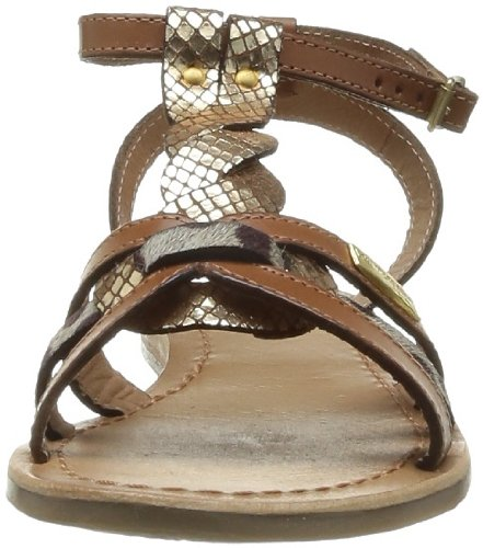 Les Tropeziennes Por El Sr. Belarbi Hams, Sandali Donna Marrone (tan Gold)