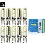 MUMENG 10X G9 7W 104SMD 3014 Bombilla LED AC220V G9 7W llevó la lámpara LED de las bombillas 220V del bulbo del proyector G9 en lámpara de cristal, blanco caliente