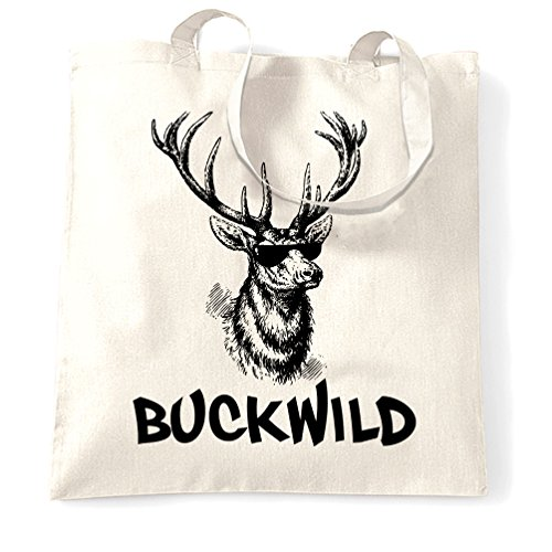 Buckwild Renna Sacchetto Di Tote White