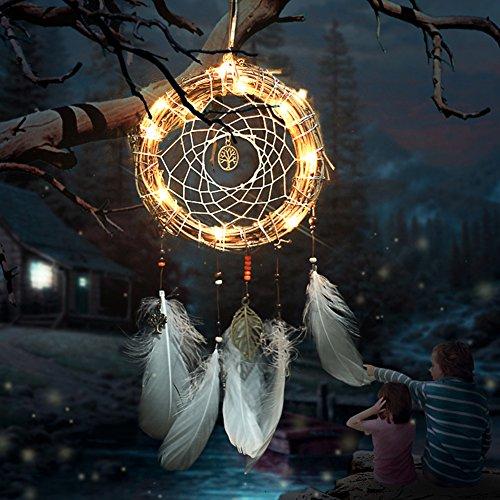 Metall Dream Catcher Ring Macrame Ring Hoop für Heimwerker Dream Catcher Craft Dekoration 10Größen - 6