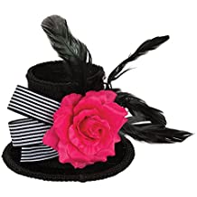 Bristol Novelty bh661 Harlequin Mini sombrero de copa 7a4969347fe
