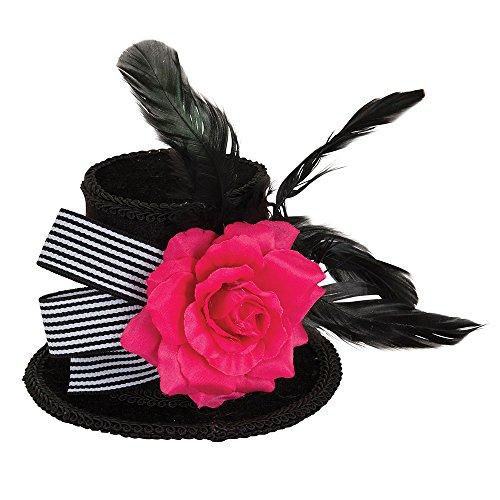 Bristol Novelty bh661Harlequin Mini Top Hat, mehrfarbig, one size