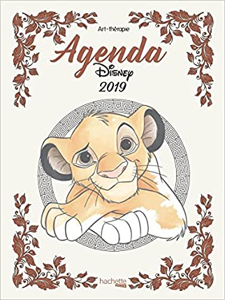 #10: Agenda Art-Thérapie Disney 2019