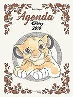 Agenda Art-Thérapie Disney 2019 de Jean-Luc Guérin