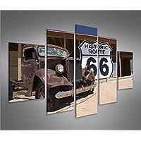 Quadri moderni Route 66 Arizona Vintage Car
