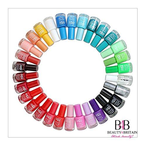Set di 24 Smalti Per Unghie 22+ Colori Diversi Moderna Bottiglia 8ml