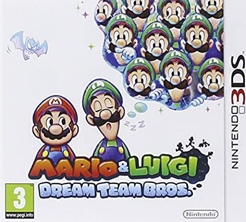 Mario Et Luigi Dream Team Bros 3ds - 3DS Mario & Luigi Dream Team Bros.