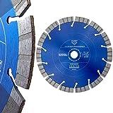 MDW Diamant Trennscheibe Ø 230 mm für Mauernutfräsen zum Schneiden von Stahlbeton & Mauerwerk wahlweise 1-5 Stück