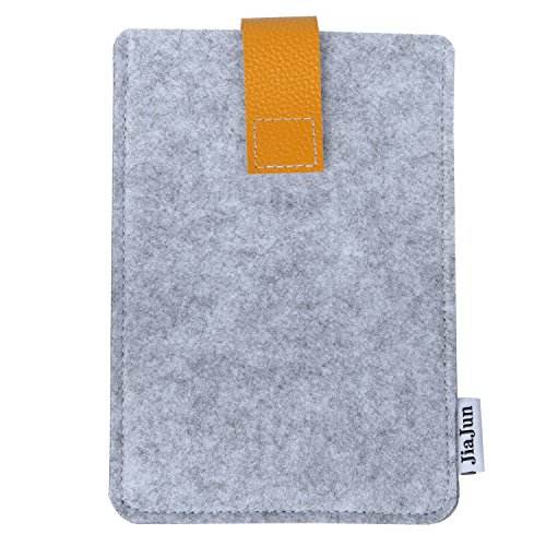 Jiajun Schutzhülle Hülle Case Filz Sleeve für Amazon Kindle Paperwhite 2015 300 PPI 3.Gen 2018/2014/ 2013/2012 All-New Kindle Paperwhite & Kindle Fire HD 6 Cover