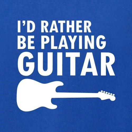 Ich Würde Lieber Gitarre Spielen - Herren T-Shirt - 13 Farben Royalblau