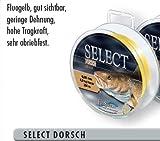 Mosella Dorschschnur Schnur Dorsch Meereschnur 0,35-0,50mm, Durchmesser:0.35mm