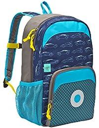 Lässig Gmbh 4Kids Mini Backpack Big Cars Navy Sac à Dos Enfants, 39 cm