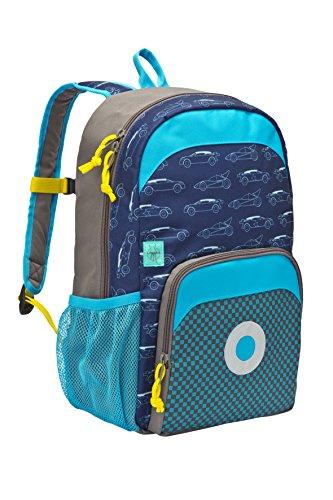 Lässig Mini Backpack Big Kinderrucksack Kindergartentasche, Cars navy (Lässig Mädchen)
