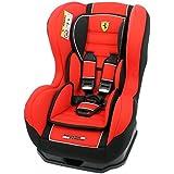 Mycarsit, asiento auto Ferrari, Grupo 0+/1(de 0a 18kg), de color rojo